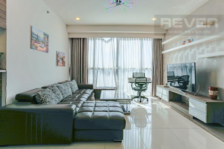 Phòng Khách Căn hộ Sunrise City tầng thấp, tháp V6, 3 phòng ngủ, full nội thất