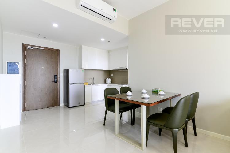 Phòng Ăn Cho thuê căn hộ Masteri An Phú, tầng trung, đầy đủ nội thất, view sông thoáng mát
