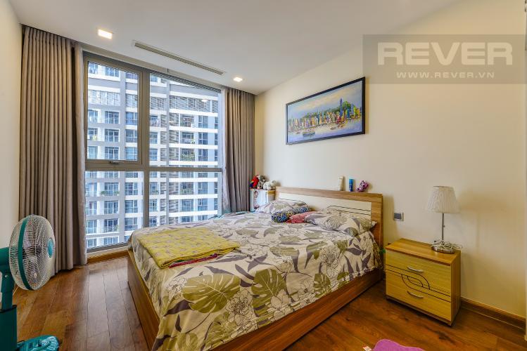 Phòng ngủ 2 Căn hộ Vinhomes Central Park tầng trung tòa park 3 full nội thất