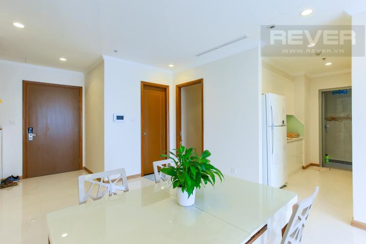 Bàn Ăn Căn hộ Vinhomes Central Park tầng cao L2, 3 phòng ngủ, nội thất đầy đủ