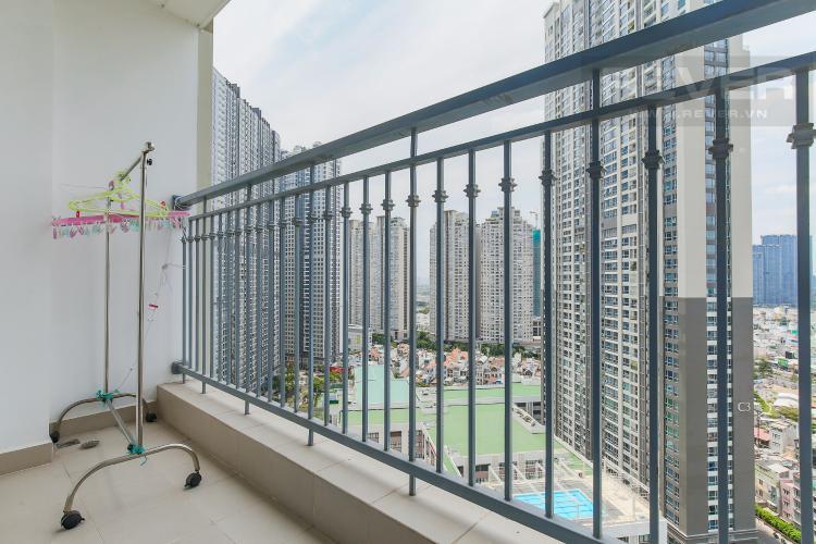 Balcony Cho thuê căn hộ Vinhomes Central Park 3 phòng ngủ, đầy đủ nội thất, view nội khu