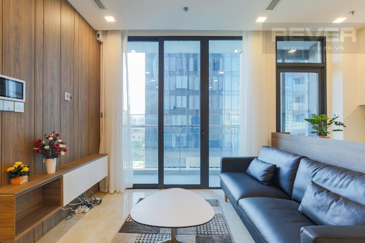 Phòng Khách Căn hộ Vinhomes Golden River tầng tháp, 2PN đầy đủ nội thất