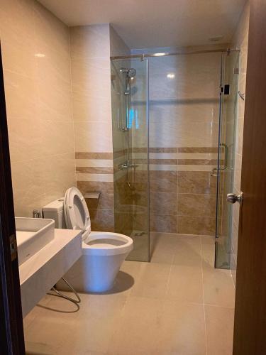Phòng tắm căn hộ Saigon Royal Căn hộ Saigon Royal tầng cao thiết kế sang trọng view hướng ra sông.