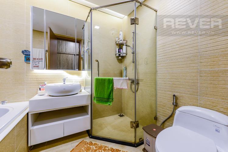 Phòng tắm 2 Cho thuê căn hộ Vinhomes Central Park tầng thấp, 4PN, đầy đủ nội thất