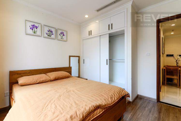 Phòng Ngủ Bán căn hộ Vinhomes Central Park 1PN, tháp The Central 2, đầy đủ nội thất, hướng Đông Bắc