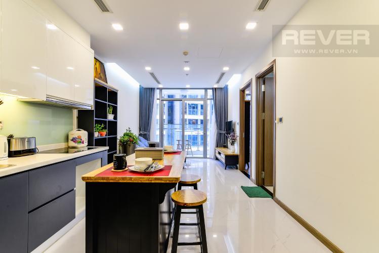 Tổng Quan Officetel 1 phòng ngủ căn hộ Vinhomes Central Park, tầng thấp, full nội thất
