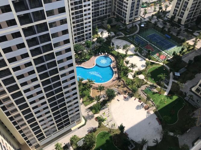 Cho thuê căn hộ Vinhomes Grand Park tầng cao diện tích sàn 59m2