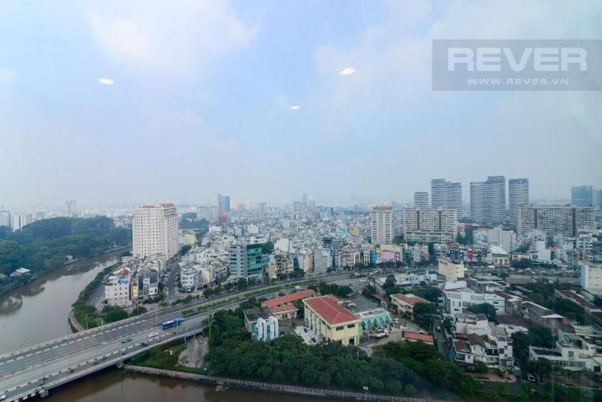view Cho thuê căn hộ Vinhomes Golden River 3PN, diện tích 98m2, đầy đủ nội thất, view thành phố
