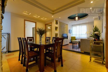 Cho thuê căn hộ chung cư Phúc Thịnh diện tích 196m2 3PN 3WC, nội thất cao cấp, view thành phố