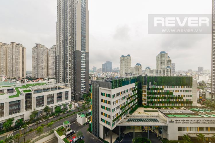 View Cho thuê căn hộ Vinhomes Central Park tầng trung, tháp Landmark 2, đầy đủ nội thất