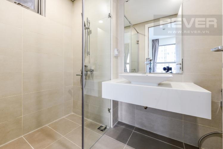 Phòng tắm 2 Cho thuê căn hộ Masteri Millennium 3PN rộng rãi, đầy đủ nội thất