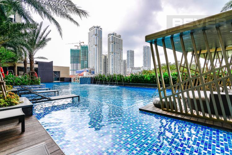Hồ Bơi Căn hộ Nassim Thảo Điền tầng trung, tháp A, 2 phòng ngủ, view sông