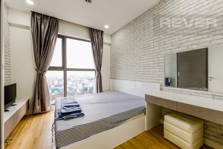 Phòng ngủ 3 Cho thuê căn hộ Masteri Millennium 3PN rộng rãi, đầy đủ nội thất