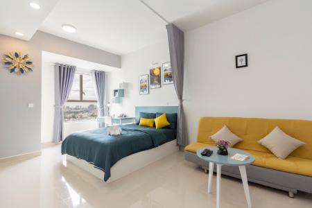 Cho thuê officetel Sunrise CityView 1 phòng ngủ, diện tích 38m2, đầy đủ nội thất