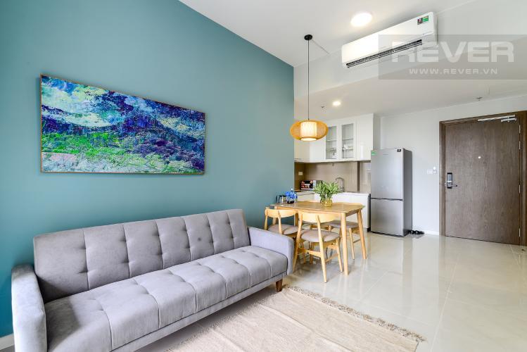 Phòng Khách Cho thuê căn hộ Masteri An Phú 1PN, tầng thấp, đầy đủ nội thất, view Xa lộ Hà Nội