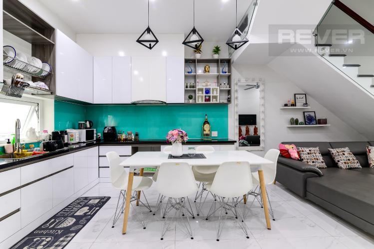 Phòng Ăn & Bếp Cho thuê nhà phố 3 tầng, 4PN, đường Liên Phường, Q.9, đầy đủ nội thất, diện tích đất 90m2