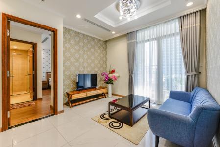 Căn hộ Vinhomes Central Park 2 phòng ngủ tầng thấp C3 nội thất đầy đủ