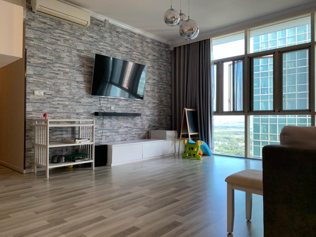 Phòng khách Bán hoặc cho thuê căn hộ The Vista An Phú 4PN, tháp T3, diện tích 172m2, đầy đủ nội thất