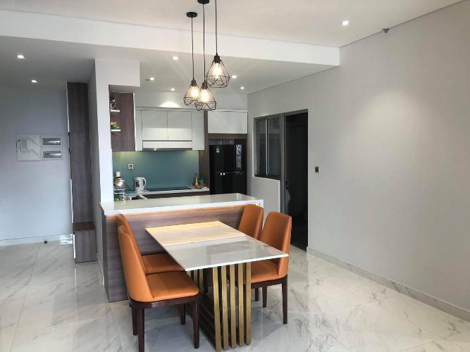 Bếp căn hộ PHÚ MỸ HƯNG MIDTOWN Cho thuê căn hộ Phú Mỹ Hưng Midtown 2PN, diện tích 98m2, đầy đủ nội thất, ban công Đông Nam