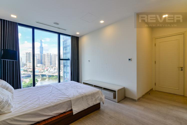Phòng Ngủ 2 Bán căn hộ Vinhomes Golden River 2PN, tháp The Aqua 1, đầy đủ nội thất, view trực diện sông Sài Gòn