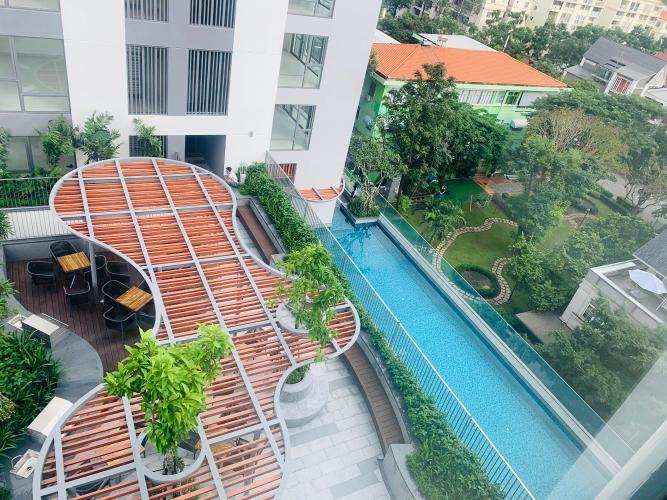 tiện ích Căn hộ Urban Hill Căn hộ Urban Hill phòng khách có 2 mặt cửa kính đón sáng tự nhiên.