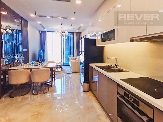 Phòng Khách Cho thuê căn hộ Vinhomes Golden River tầng cao, tháp The Aqua 4, đầy đủ nội thất, view sông Sài Gòn