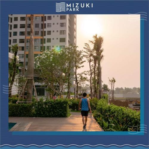 tiện ích căn hộ mizuki park Căn hộ Mizuki Park view cây xanh mát mẻ, tầng trung.