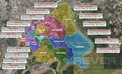 Bức tranh toàn cảnh các dự án chung cư Quận 9