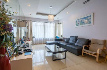 Căn hộ Saigon Pearl 3 phòng ngủ tầng cao Sapphire đầy đủ nội thất