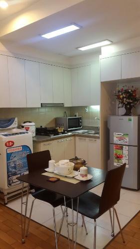 Phòng bếp , Căn hộ The Manor , Quận Bình Thạnh Căn hộ The Manor 1 phòng ngủ, nội thất đầy đủ.