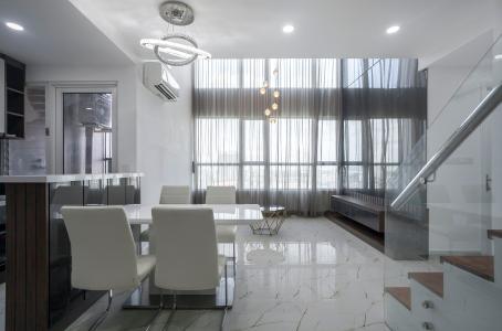 Duplex Vista Verde 2 phòng ngủ, tầng thấp, tháp T1, nội thất đầy đủ