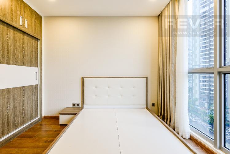 Phòng ngủ 1 Căn hộ Vinhomes Central Park tầng thấp, Park 5, 2 phòng ngủ, view sông