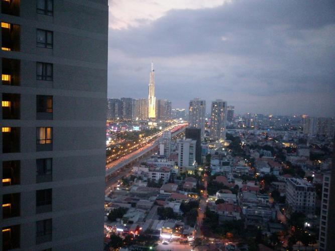 View cảnh căn hộ Masteri Thảo Điền Căn hộ Masteri Thảo Điền tầng cao, view sông thoáng mát