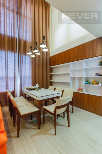 Bàn Ăn Cho thuê căn hộ Vista Verde 2 phòng ngủ, diện tích lớn, đầy đủ nội thất