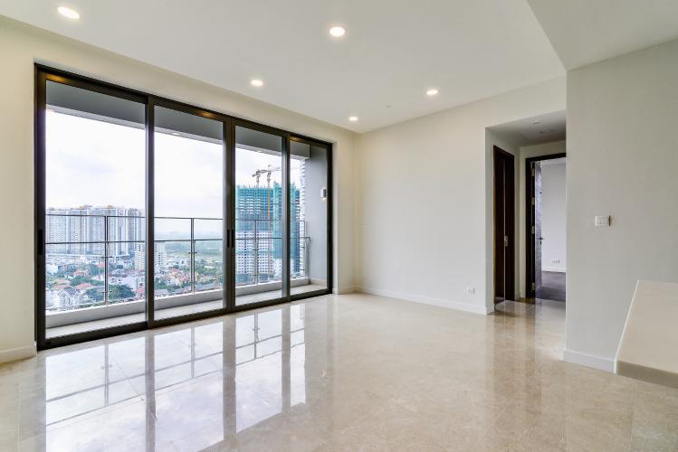 Căn hộ Nassim Thảo Điền tầng trung, tháp A, 2 phòng ngủ, view sông