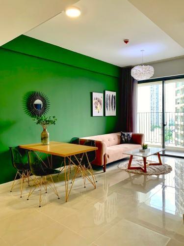 Cho thuê căn hộ Masteri An Phú 2 phòng ngủ, tháp A, đầy đủ nội thất cao cấp