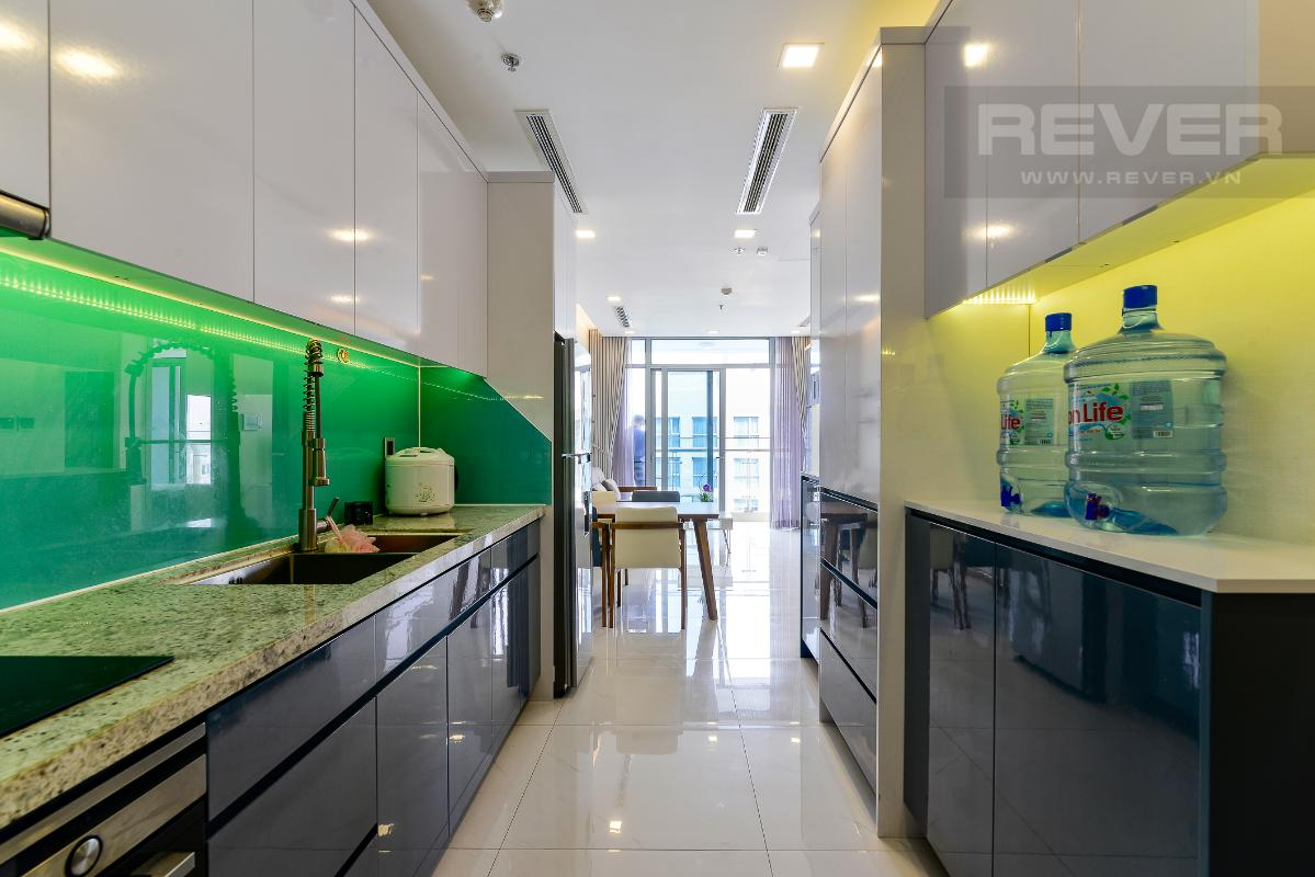 _DSC3959 Bán căn hộ Vinhomes Central Park 1PN, tháp Park 7, đầy đủ nội thất, view hồ bơi và mé sông