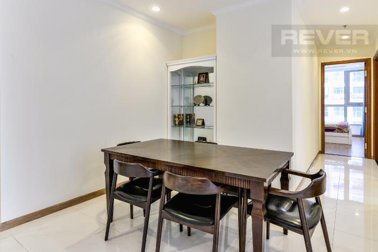 Phòng Ăn Cho thuê căn hộ Vinhomes Central Park tầng cao, 2PN đầy đủ nội thất, view nội khu