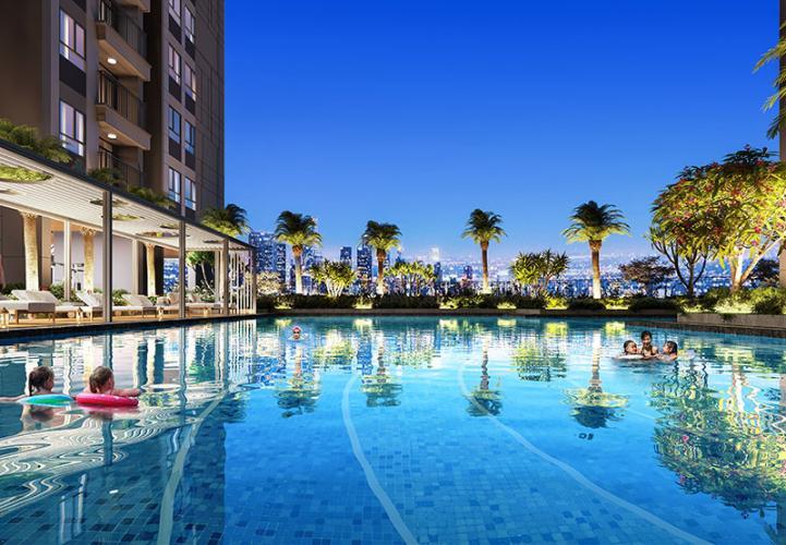 tiện ích hồ bơi Opal Boulevard Căn hộ Opal Boulevard tầng 26 ban công Đông Nam thoáng gió