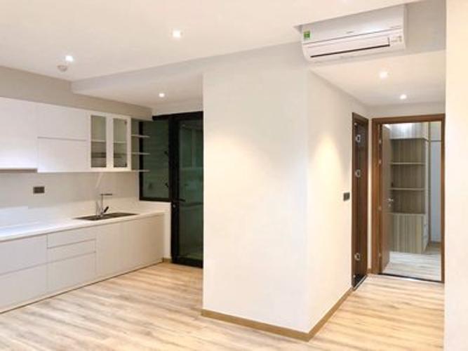 Không gian bếp và phòng ngủ căn hộ Feliz en Vista Căn hộ Feliz En Vista tầng cao nội thất cơ bản, view thành phố.