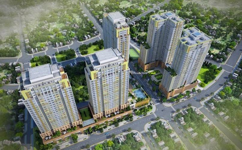 Dự án căn hộ Tropic Garden Căn hộ Tropic Garden tầng cao đầy đủ nội thất, tiện nghi cao cấp.