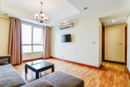 Căn hộ The Manor 1 phòng ngủ tầng thấp tháp D nội thất đầy đủ