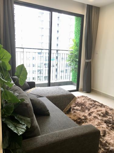 View căn hộ Vinhomes Grand Park Căn hộ Vinhomes Central Park view nội khu 2 phòng ngủ nội thất cơ bản.