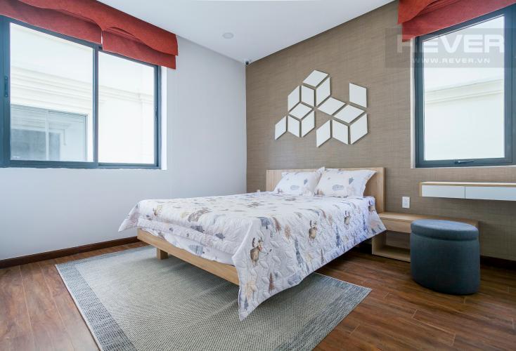 Phòng Ngủ 2 Biệt thự Lakeview City đường Nguyễn Duy Trinh Quận 2, diện tích 8x20m, thiết kế hiện đại.