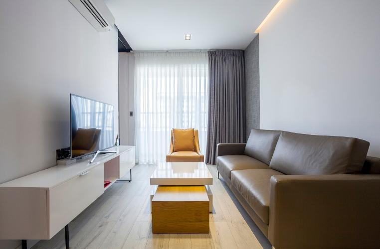Phòng Khách Căn hộ Lexington 1 phòng ngủ tầng cao block D nội thất cao cấp