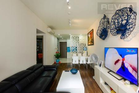 Bán căn hộ Lexington Residence 2PN, tầng trung, nội thất cơ bản, view đại lộ Mai Chí Thọ