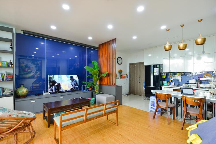 Phòng khách penthouse Chung cư Bộ Công An Cho thuê penthouse Chung cư Bộ Công An 3PN, diện tích nhà 160m2, diện tích sân vườn 200m2, đầy đủ nội thất