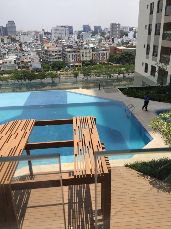 97fdeede4898aec6f789 Bán căn hộ The Gold View 2PN, tháp A, diện tích 91m2, đầy đủ nội thất, view trực diện hồ bơi