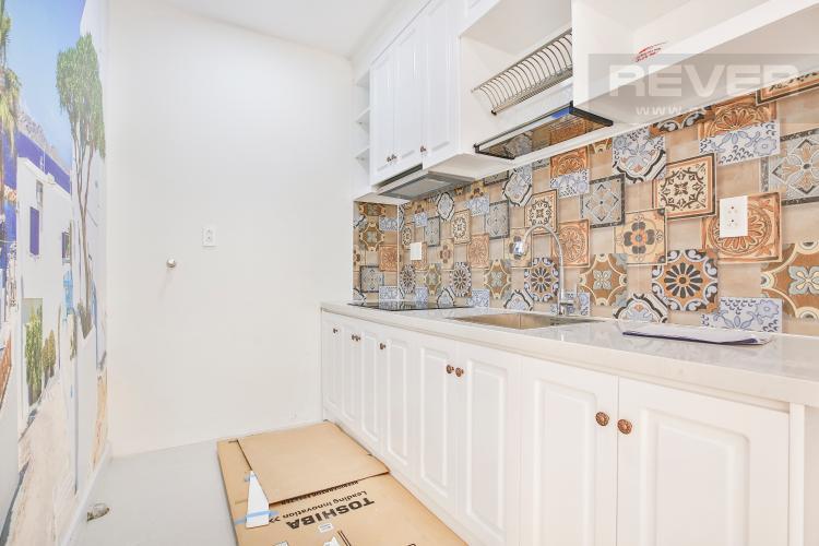 Bếp Căn hộ The Gold View 1 phòng ngủ tầng thấp A3 view hồ bơi