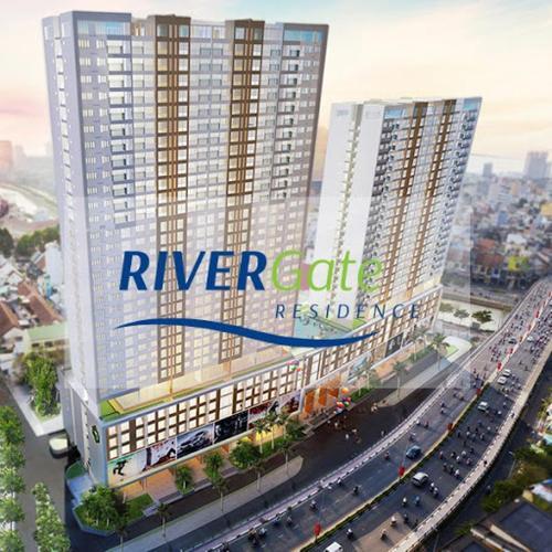 Rivergate Residence, Quận 4 Căn hộ RiverGate Residence tầng cao, ban công hướng Tây Nam.